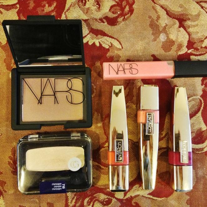 nars, covergirl, l'oreal makeup haul