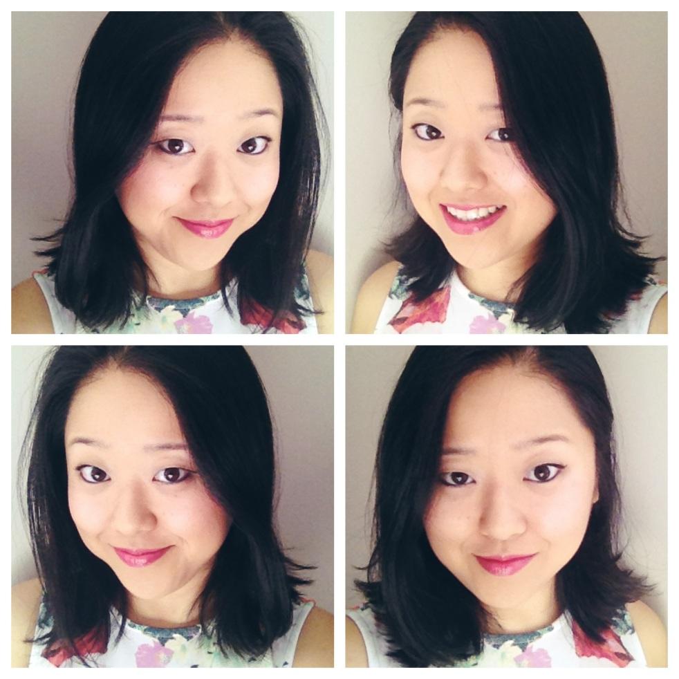 shoulder length asian haircut